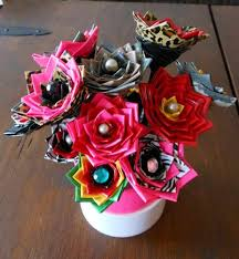 Crafting Flowers Is Another Creative Girl Craft Which Done In Many Ways You Can Have Paper Or Cloth These Arts And Crafts Are