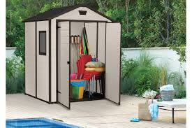 Keter Manor Resin Shed 4 X 6 by 6x5 Outdoor Garden Storage Shed Keter