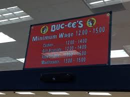 Buc Ees Bathrooms by Buc Ee U0027s Publicly Lists How Much They Pay Their Employees The