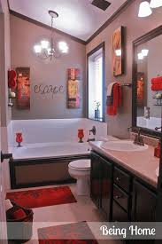 Cheap Camo Bathroom Sets by Best 25 Red Bathroom Decor Ideas On Pinterest Restroom Ideas