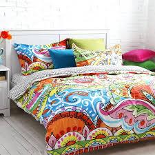 Colorful Bedroom forter Sets Anthologya Bungalow Reversible