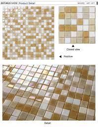 China Glass Mosaic Tile Jinyuanmosaic