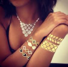 CheriTatts Metallic Temporary Tattoos