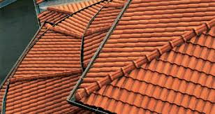 interlocking roof tile clay pica