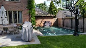 16x26 Basketball Court By Total Sport Solutions Makes Great Use Of ... Private Indoor Basketball Court Youtube Nice Backyard Concrete Slab For Playing Ball Picture With Bedroom Astonishing Courts And Home Sport Stunning Cost Contemporary Amazing Modest Ideas How Much Does It To Build A Amazoncom Incstores Outdoor Baskteball Flooring Half Diy Stencil Hoops Blog Clipgoo Modern 15 Best Images On Pinterest Court Best Of Interior Design
