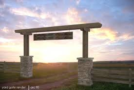 Ranch Entrance Ideas