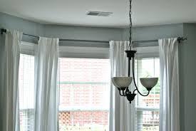 Rod Desyne Double Curtain Rod by Stylish Bay Window Curtain Rod Ideas For Install Bay Window