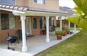 tile roof patio cover wood builders construction