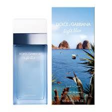 Light Blue Love in Capri For Women Eau De Toilette Spray 3 4oz 1