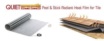 radiant floor heating electric in floor heat radiant floor