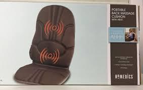 siege massant homedics cbs1000 homedics portable back cushion with heat never out