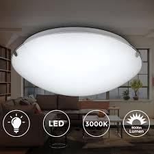 b k licht led deckenleuchte amaris led board warmweiß led deckenle glas le bad leuchte licht wohnzimmer küche 11w