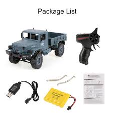 WPL B-1 1/16 2.4G 4WD Off-Road RC Military Truck Rock Crawler Army ... Truck Parts Military Surplus Trucks Heavy Equipment 1 Pair Metal Trailer Hook Shackles Buckle For Wpl Rc Car Crawler 18genuine Us B And M Winch M37 M715 8000lbs 25 Ton 007728126 1969 Mack M123e2 10 Tractor Youtube List As Built United States Armed 1992 Freightliner Tpi Astra Bm 201 Mt Military Truck Parts Vehicle From Two Russian Zil 131 With Winch Sale Covers Breton Industries Jiefang Ca30 Wikipedia Of Model Radar Vexmatech Medium