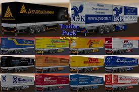 100 Panther Trucking Company TRAILER PACK TRUCKING COMPANY V30 124 ETS2 Mods Euro