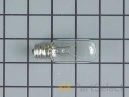 frigidaire 5304408949 microwave light bulb partselect