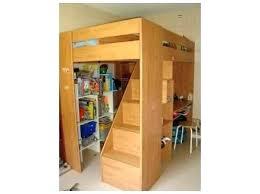 lit mezzanine avec bureau et rangement lit mezzanine avec rangement lit superpose avec bureau lit