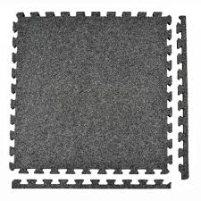 Simply Seamless Carpet Tiles Canada by Greatmats Royal Carpet Dark Gray Velour Plush 2 Ft X 2 Ft X 5 8
