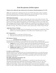 Front Desk Job Resume by Cover Letter Office Receptionist Jobs Office Receptionist Jobs In