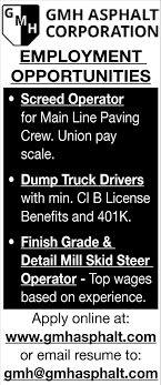 Multi Positions, Gmh Asphalt Corporation~, Chaska, MN New Jersey Cdl Jobs Local Truck Driving In Nj Teamsters 25 Charlestown Massachusetts Uerstanding The Pay Scale For Drivers Truckdriverssalarycom Lease Purchase Rti Shale Country Is Out Of Workers That Means 1400 For A Truck Gender Pay Gap The United States Wikipedia Home Delivery Job Lancaster Pa Lancasteronlinecom Several Fleets Announce Increases Drivers Why Do Trucking Companies Hhg Or Zipcode Miles To Multi Positions Gmh Asphalt Cporation Chaska Mn Free Stub Templates Smartsheet