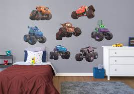 Disney/Pixar Cars - Monster Trucks Collection Wall Decal | Shop ... Lego Duplo Disney Pixar Cars Set 6132 Red The Fire Truck Review Amazing New Fort Wilderness Rv Food Isnt Quite As Dtown West Side Trucks Photo 9 Of 12 T Trucking Reliable Safe Proven Mouse Meals On Wheels Disneys Rolling In 11 And Toys Lighting Mcqueen Tayo Garage Learn Movie Diecast Toys Bontoyscom Disneypixar Tour Life Like Touring Mack Playset Walmartcom 2 Wally Hauler Exclusive Semi And Trailer Best Resourcerhftinfo Large Toy For Sale