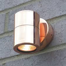 elipta compact wall light copper 12v mr16