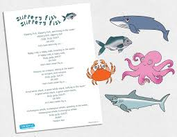 Slippery Fish Magnetic Song Puppets