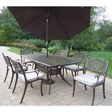 7 Piece Patio Dining Set Walmart by Patio Amusing Lowes Outdoor Dining Sets Lowes Outdoor Dining
