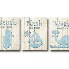 Teal Color Bathroom Decor by Teal Aqua Wood Bathroom Sign Decoration From Pinkrockbabies On