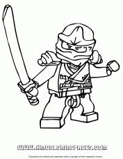Ninjago Printable Coloring Pages 3