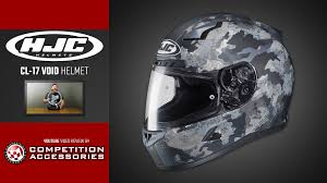 Hjc Cl 17 Chin Curtain Canada by Hjc Cl 17 Void Helmet Review Youtube