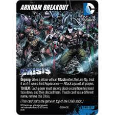 comics deckbuilding game crisis expansion pack 1