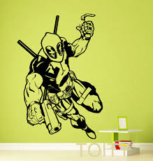 Superhero Wall Decor Stickers by Online Get Cheap Superheroes Wall Stickers Aliexpress Com