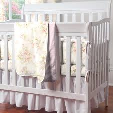 Shabby Portable Crib Bedding