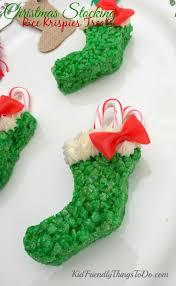 Gumdrop Christmas Tree by A Rice Krispies Treat Stocking For Christmas Fun Kid Friendly