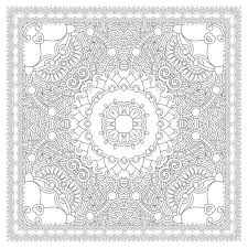 37860266 Unique Coloring Book Square Page For Adults