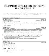 Sample Customer Service Resume No Experience Labor Relations Specialist Best Templates Samples