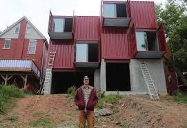 100 Storage Container Homes For Sale Hamilton Is Delivered Its First Shipping Container Home