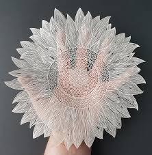 The Resulting Works Of Art Are Incredibly Detailed Paper Cuts Plants Animals And Abstract Designs With Hand Replicated Patterns Variations In Line