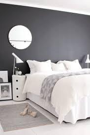 chambre gris noir et blanc chambre noir et blanc