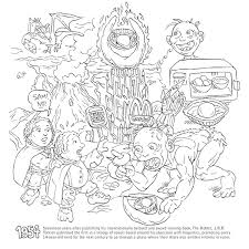 Learn All About The History Of Geekdom In Kitchen Overloards Geeky Coloring Book For Adults