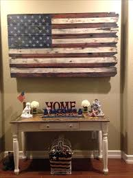 American Flag Home Decor S Rustic