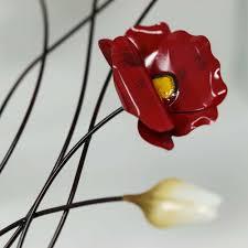 formano wanddekoration mohnblume hinreißende rote mohnblume als deko für zuhause wohnzimmer küche