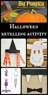 Best Halloween Books For Second Graders halloween sequencing activity for