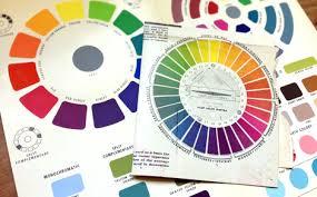 Vintage Color Wheels Charts