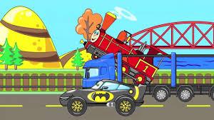HT KIDS | SUV Superhero Trucks - Toys Cars For Kids - Children Video ...