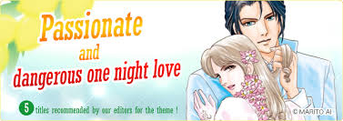 Harlequin Comics Special Feature Passionate And Dangerous One Night Love