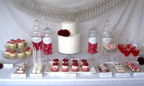Candy Buffet Wedding Table