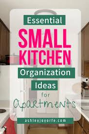Small Kitchen Organizing Ideas Small Kitchen Organization Ideas For Apartments