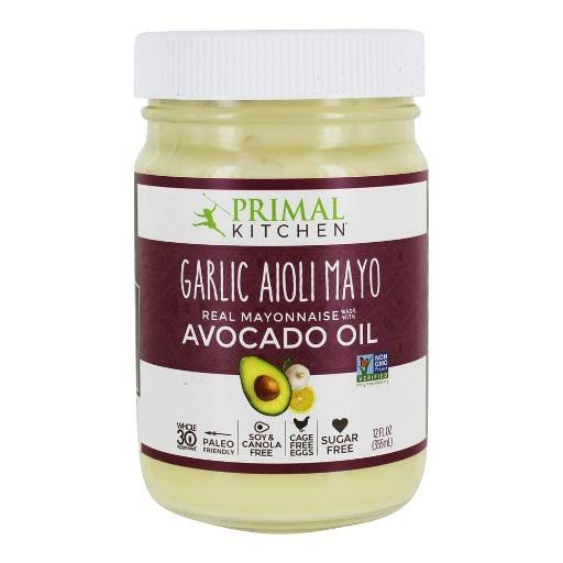 Primal Kitchen Gluten and Dairy Free Avocado Oil Mayo - 12oz