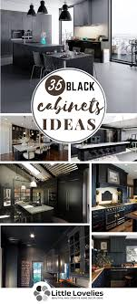 Advance Designing Ideas For Kitchen Interiors 35 Black Kitchen Cabinets Ideas Designs For Highly Advanced